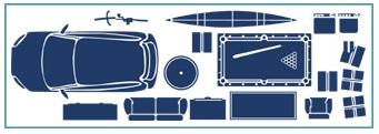 10x25 storage unit illustration
