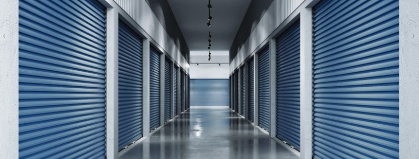 storage facility hallway
