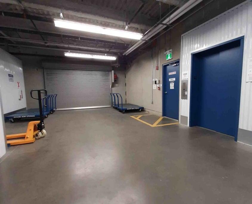 Vedder location loading entrance